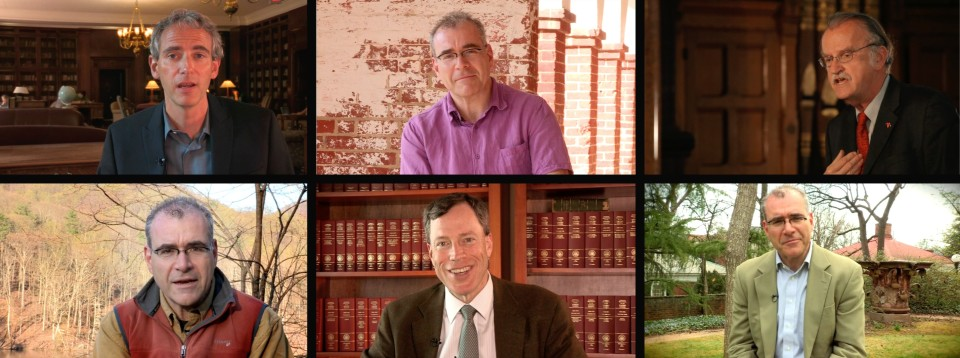 Stills from UVA MOOCs